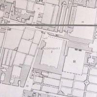 da pianta topografica Quartiere Chiaia del XIX secolo