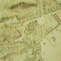 pianta ufficiale Napoli Piedigrotta 1870