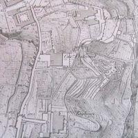 pianta di Napoli Piedigrotta del 1878