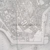 Pianta di Napoli 1863-1870 fogli 22 e 23