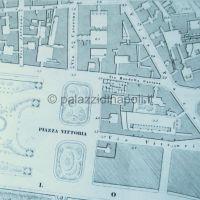 pianta Napoli 1863-1870 Foglio 22