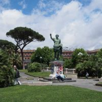 giardini su via Cesario Console