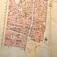 pianta Quartiere San Giuseppe 1830