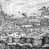veduta Stinemolen 1582