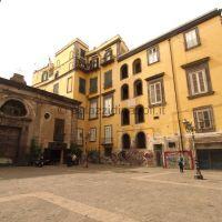 prospettiva con palazzo Casamassima