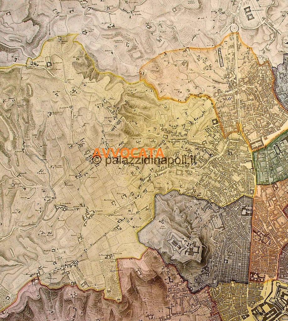 Napoli Cartina Stradale