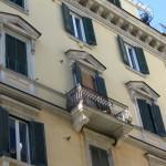 via Merliani 31 - particolare facciata