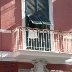 via Merliani 110 - balcone