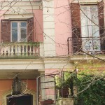 via Scarlatti 215 - atrio e balconata