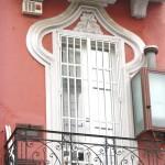 villa Margherita - fregio balcone
