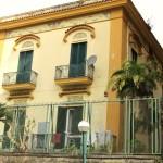 villa Carolina - facciata lato Cimarosa
