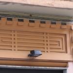 via Solimena 8 - pannello decorativo ingresso