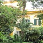 villa Carolina - facciata lato Morghen