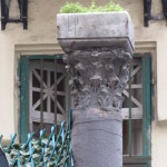 via Solimena 8 - capitello di scavo