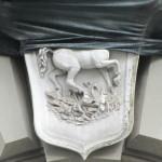 via Scarlatti 110 - stemma gentilizio