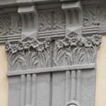 via Solimena 9 - lesene e modiglioni