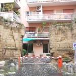villa Belvedere - esedra antico ingresso da via Belvedere