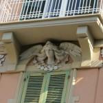 via Maestro Colantonio 2 - fregio balcone