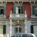 villa Elena e Maria - portale