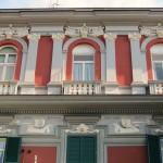 villa Elena e Maria - parte superiore facciata