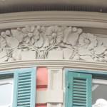 via Michetti 4 - fregio balconi