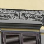 via Michetti 5 - fregio balcone