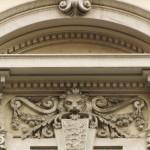 villa Titina - fregio piano nobile