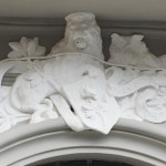 via Cotronei 9 - fregio portale