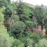 il corpo principale di villa Visocchi