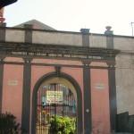 villa Paradiso - portale d'ingresso