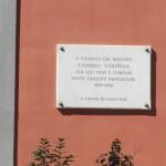 lapide dedicata al musicista Nardella