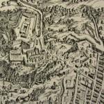 veduta cartografica Duperac Lafrery 1566
