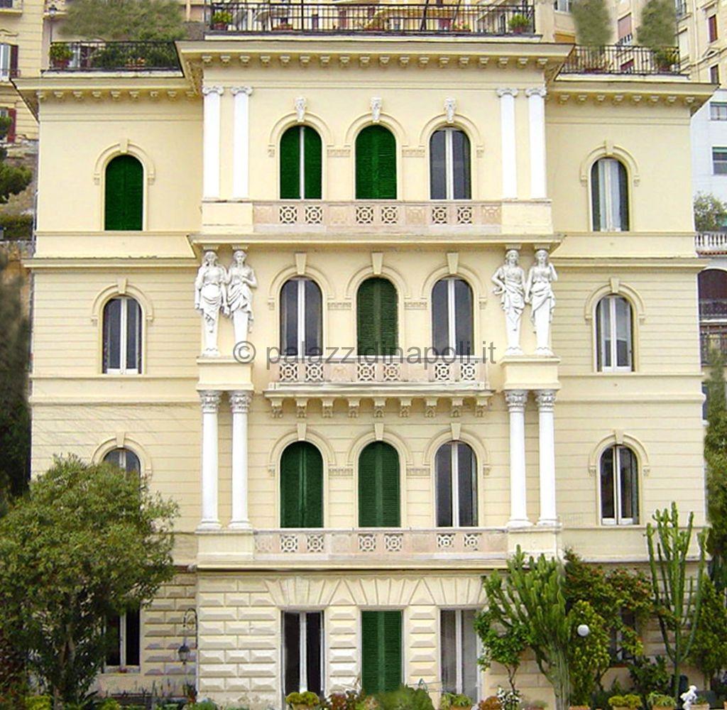 Villa masselli 103 palazzi di napoli for Piani di palazzi contemporanei