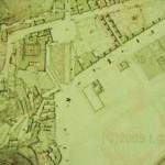da pianta città di Napoli Piedigrotta 1870