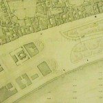 da pianta città di Napoli Villa Nazionale 1870