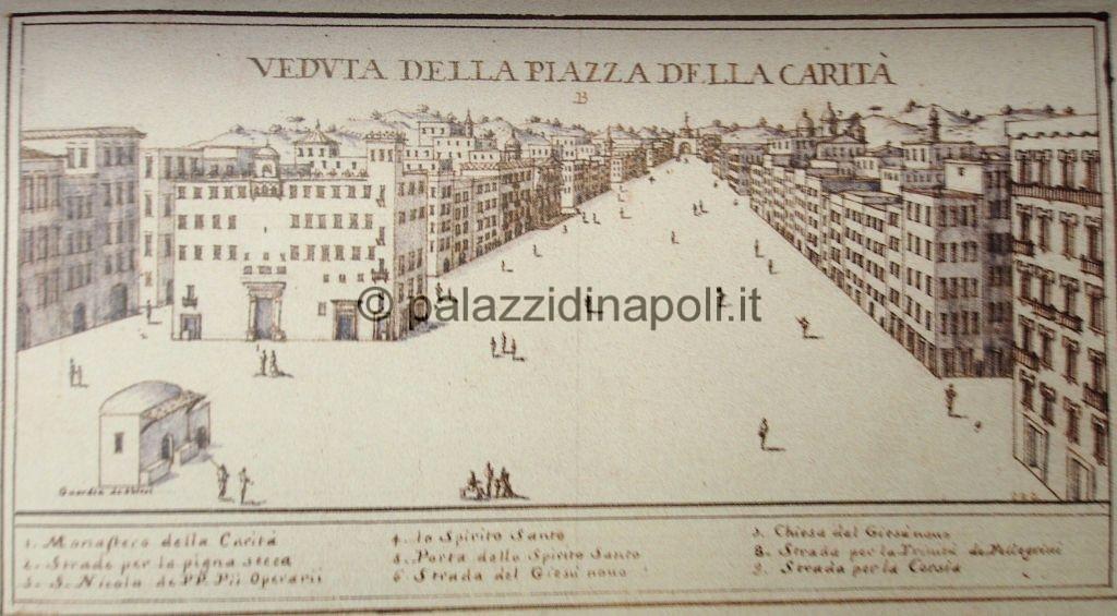 Cassiano da Silva piazza Carità 1680