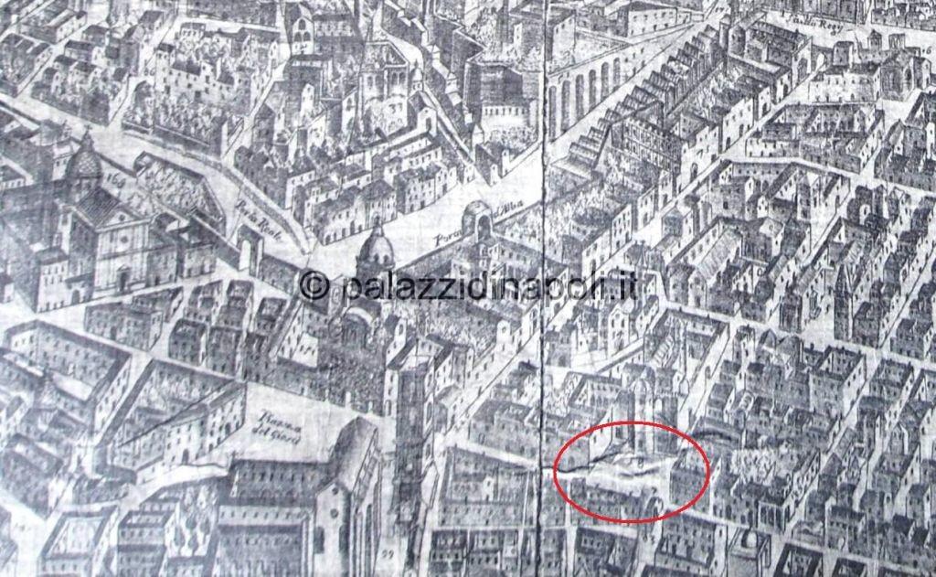 Baratta 1629 piazza San Domenico Maggiore