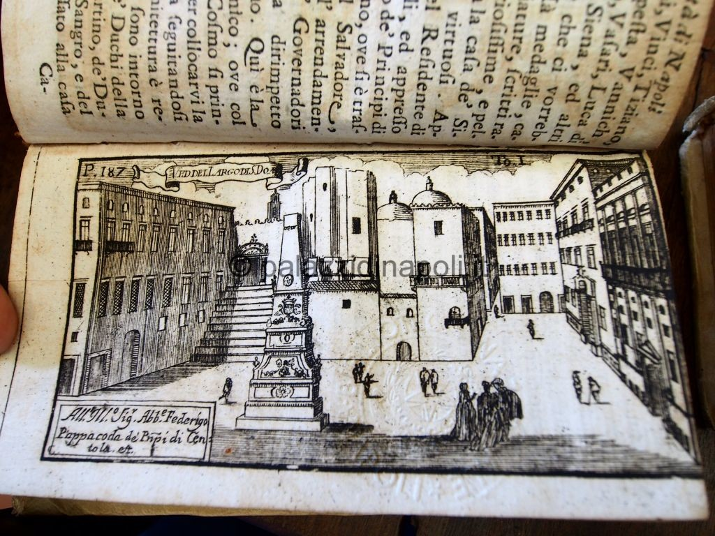 Parrino 1700 piazza San Domenico Maggiore
